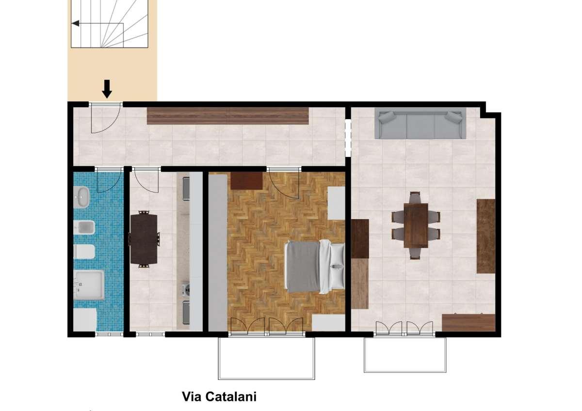 Vendita appartamento via Catalani - immagine 21